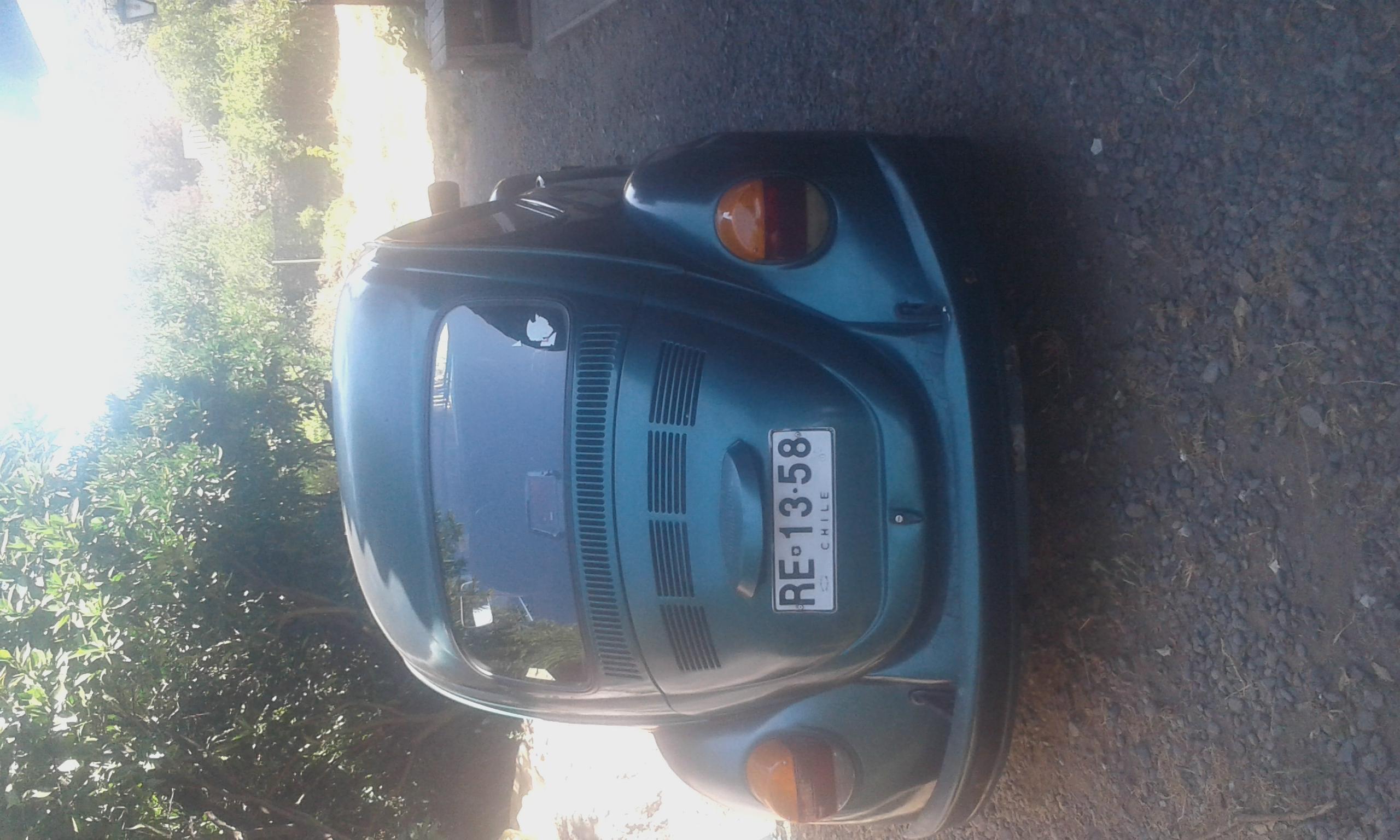 Volkswagen Escarabajo manual año
