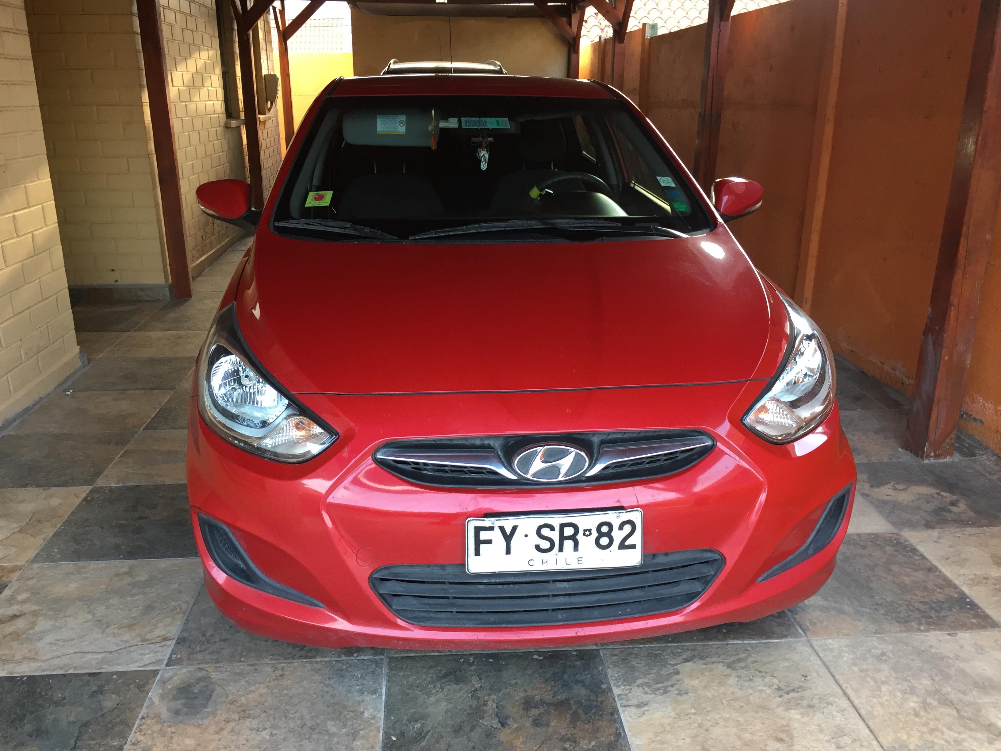 Hyundai Accent 1.4 RB GLS AC 2AB ABS año 2014