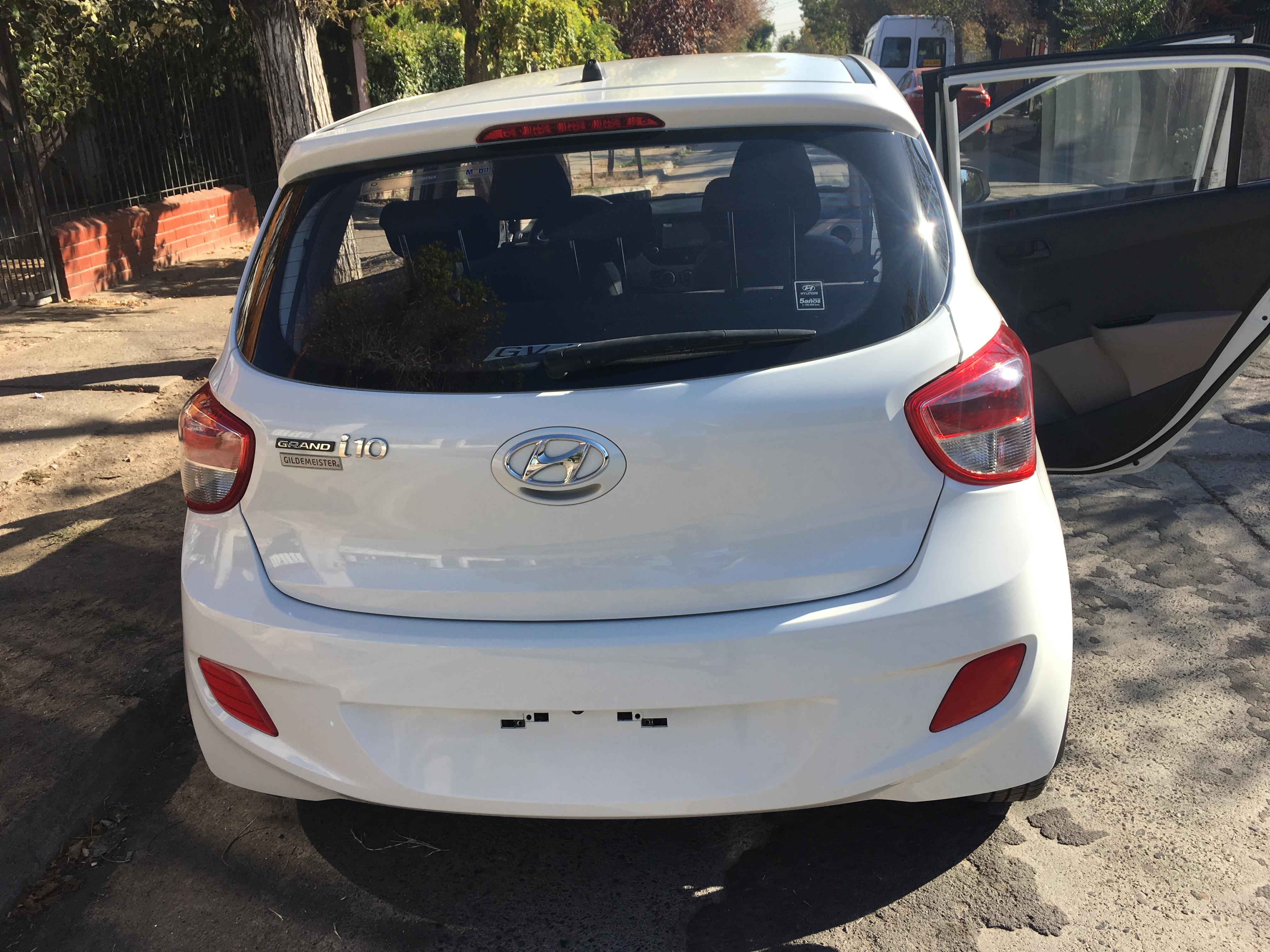 Hyundai I 10 GRAND I10 1.2 año 2014