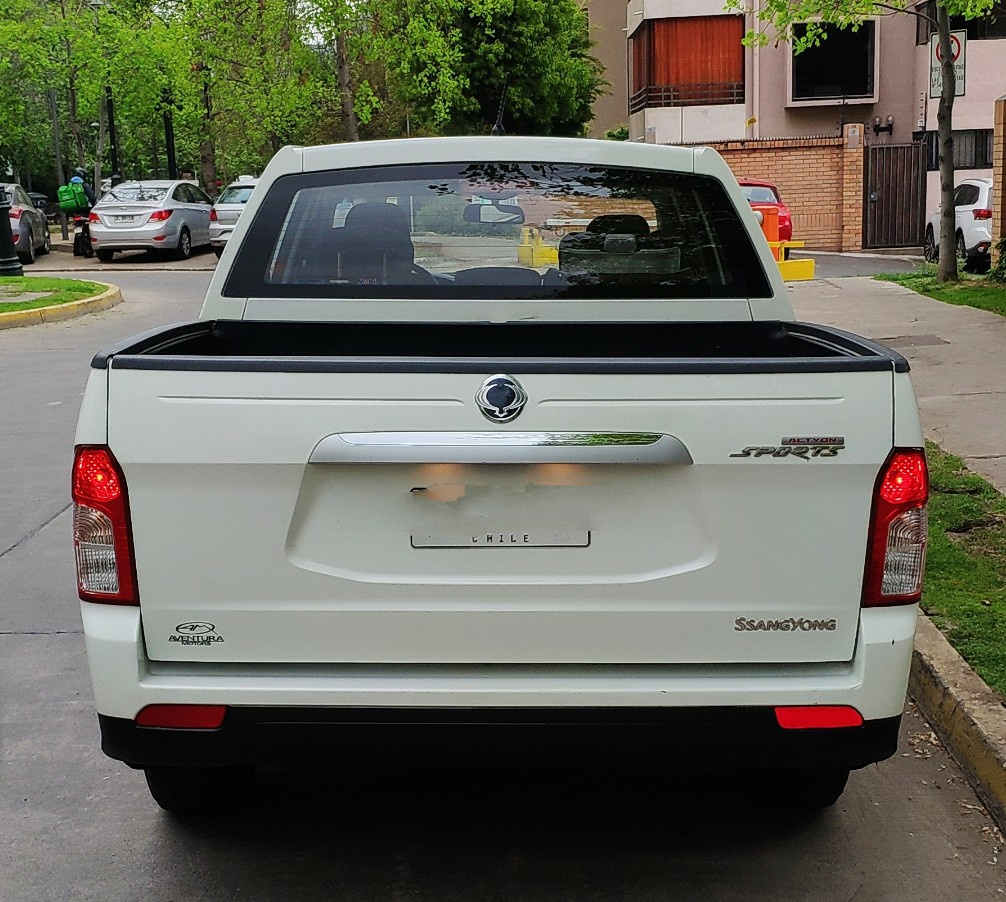 Ssangyong Actyon Sports NAS 612 FULL - 2AB ABS 2.0 año 2015